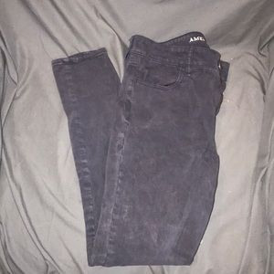 American eagle navy blue jeans